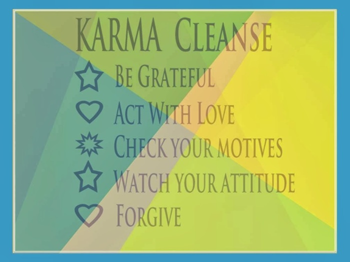 Karma Cleaning